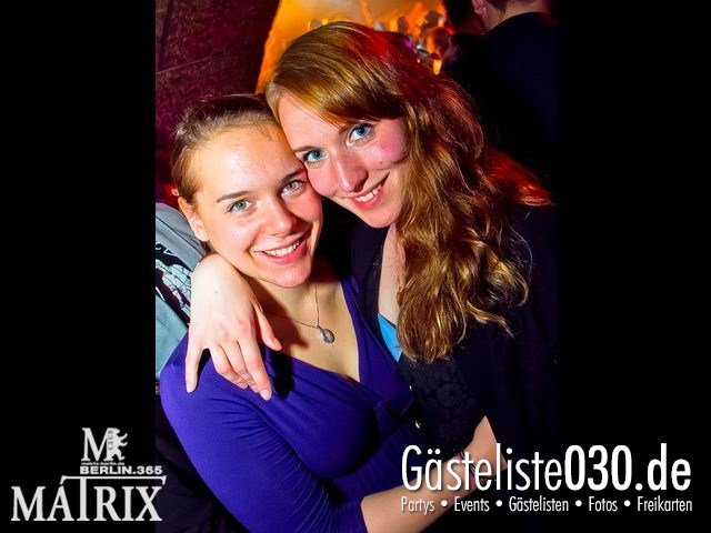 https://www.gaesteliste030.de/Partyfoto #105 Matrix Berlin vom 25.04.2012
