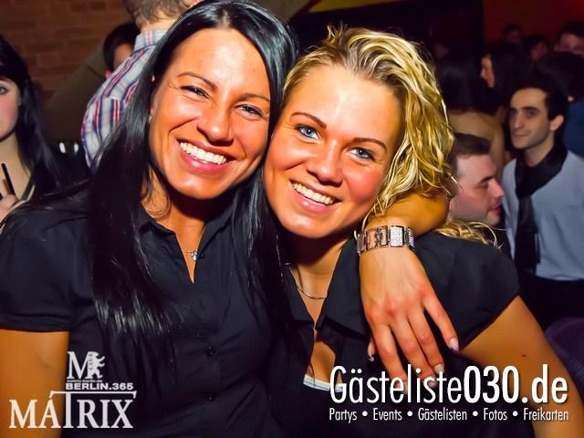 https://www.gaesteliste030.de/Partyfoto #28 Matrix Berlin vom 14.01.2012