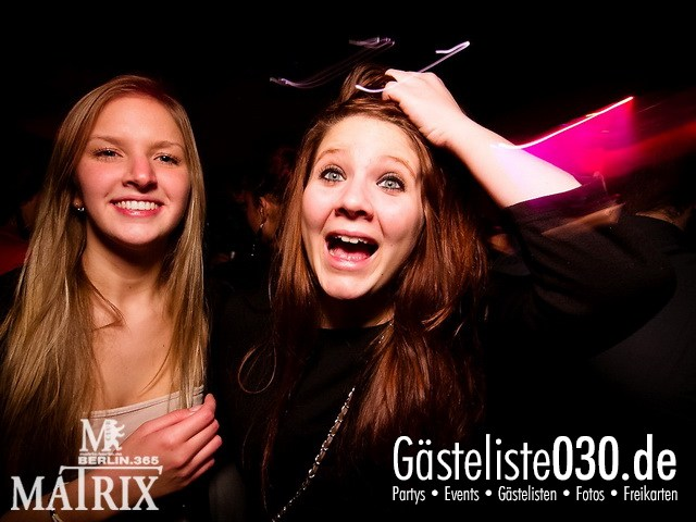 https://www.gaesteliste030.de/Partyfoto #38 Matrix Berlin vom 05.01.2012