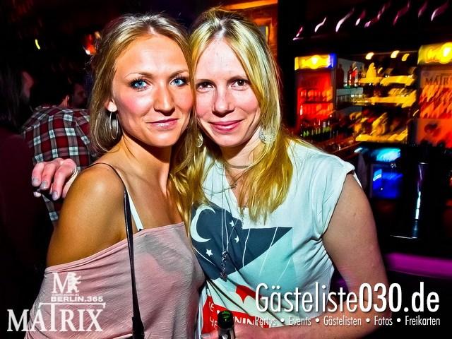 https://www.gaesteliste030.de/Partyfoto #90 Matrix Berlin vom 05.04.2012