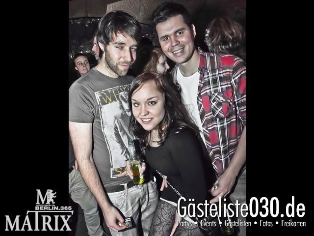 https://www.gaesteliste030.de/Partyfoto #52 Matrix Berlin vom 13.01.2012