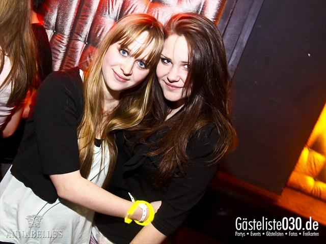 https://www.gaesteliste030.de/Partyfoto #106 Annabelle's Berlin vom 10.04.2012