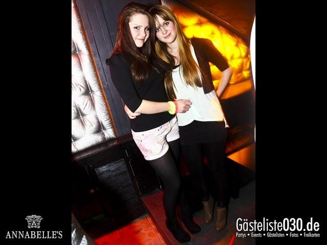 https://www.gaesteliste030.de/Partyfoto #137 Annabelle's Berlin vom 10.04.2012
