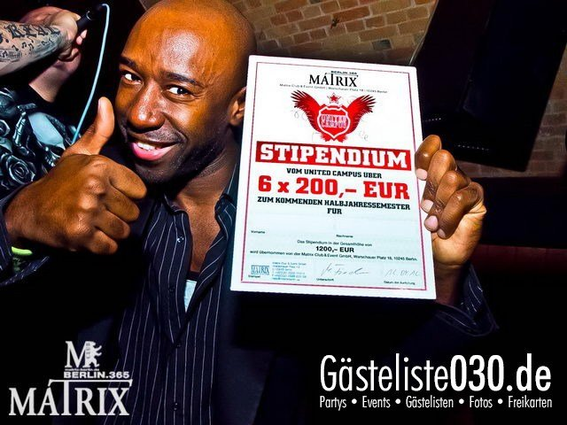 https://www.gaesteliste030.de/Partyfoto #64 Matrix Berlin vom 12.04.2012