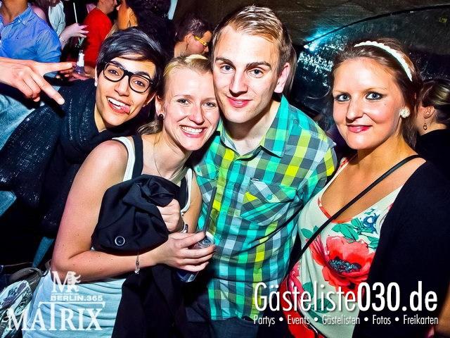 https://www.gaesteliste030.de/Partyfoto #126 Matrix Berlin vom 13.04.2012