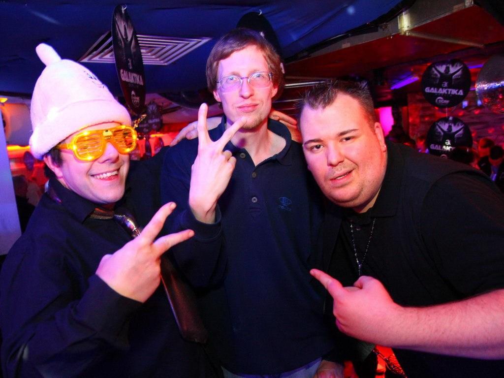 Partyfoto #49 Q-Dorf 14.01.2012 Galaktika