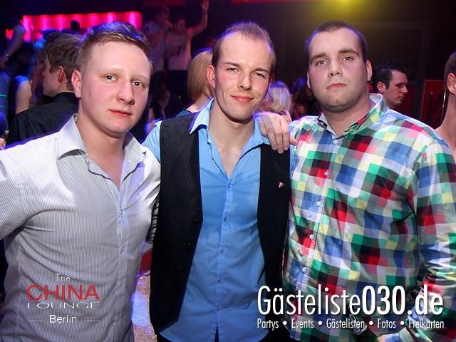 https://www.gaesteliste030.de/Partyfoto #18 China Lounge Berlin vom 09.12.2011