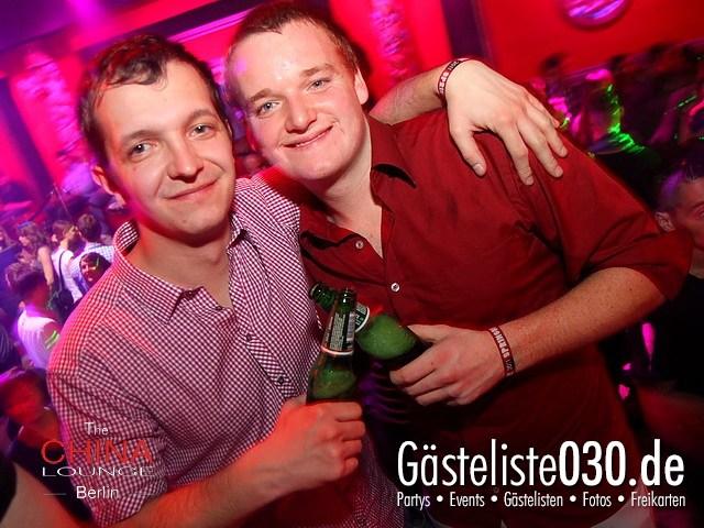 https://www.gaesteliste030.de/Partyfoto #15 China Lounge Berlin vom 09.12.2011