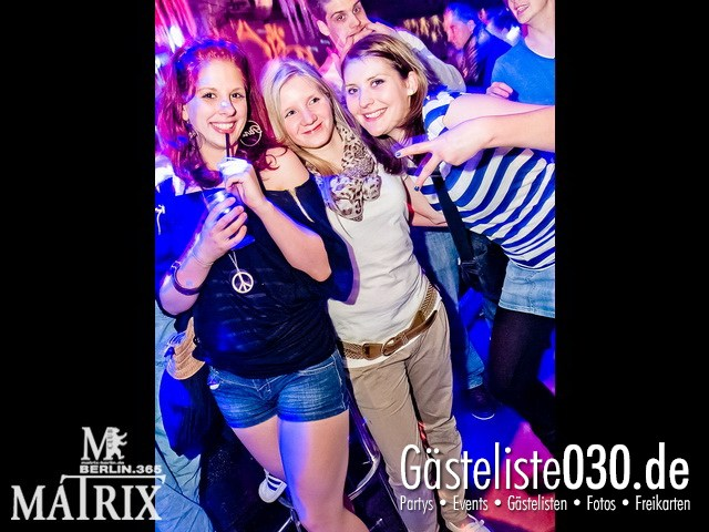https://www.gaesteliste030.de/Partyfoto #99 Matrix Berlin vom 04.04.2012
