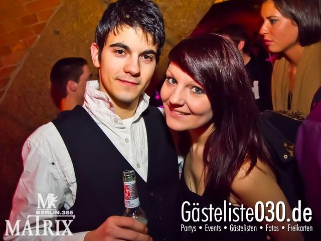 https://www.gaesteliste030.de/Partyfoto #87 Matrix Berlin vom 13.01.2012