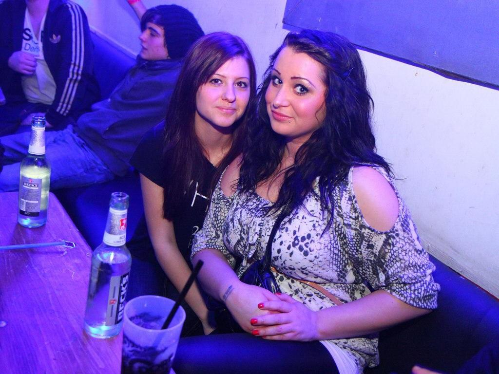 Partyfoto #75 Q-Dorf 14.01.2012 Galaktika