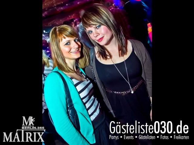 https://www.gaesteliste030.de/Partyfoto #62 Matrix Berlin vom 09.12.2011