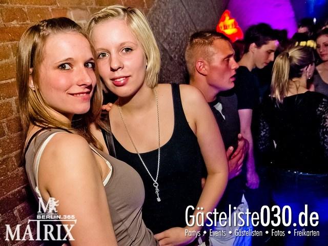https://www.gaesteliste030.de/Partyfoto #77 Matrix Berlin vom 11.04.2012