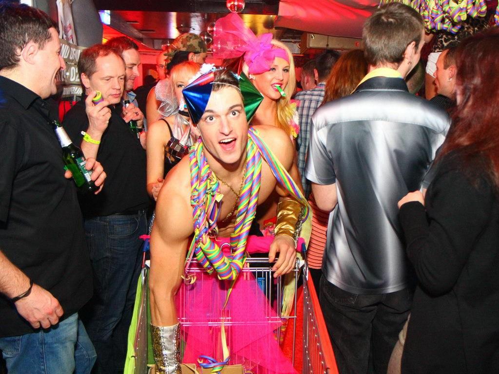 Partyfoto #50 Q-Dorf 18.02.2012 Galaktika