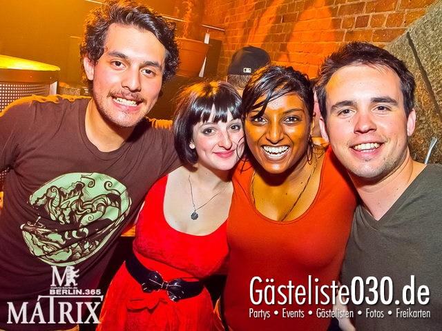 https://www.gaesteliste030.de/Partyfoto #82 Matrix Berlin vom 09.05.2012