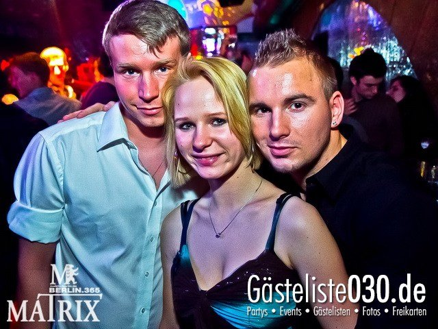 https://www.gaesteliste030.de/Partyfoto #46 Matrix Berlin vom 10.03.2012