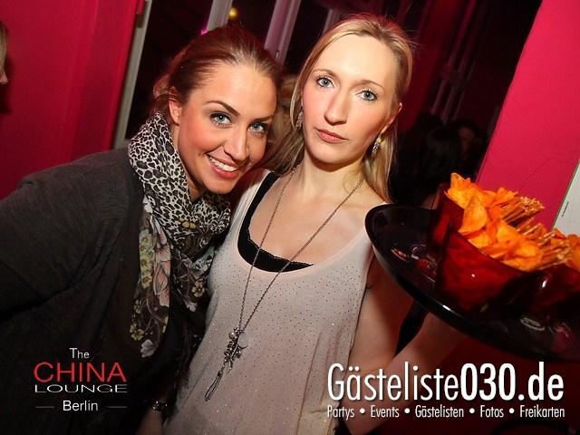 https://www.gaesteliste030.de/Partyfoto #39 China Lounge Berlin vom 09.12.2011