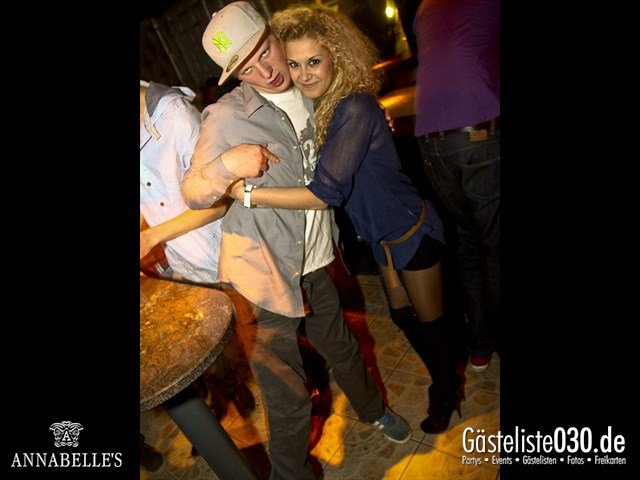 https://www.gaesteliste030.de/Partyfoto #82 Annabelle's Berlin vom 09.04.2012