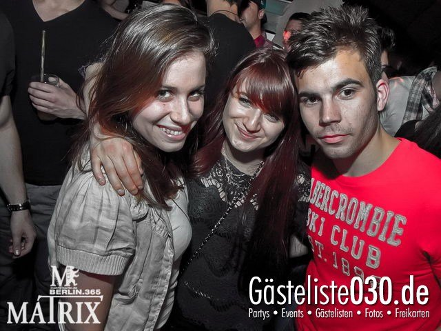 https://www.gaesteliste030.de/Partyfoto #120 Matrix Berlin vom 25.04.2012