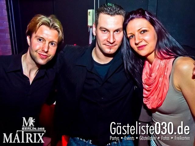 https://www.gaesteliste030.de/Partyfoto #63 Matrix Berlin vom 31.03.2012
