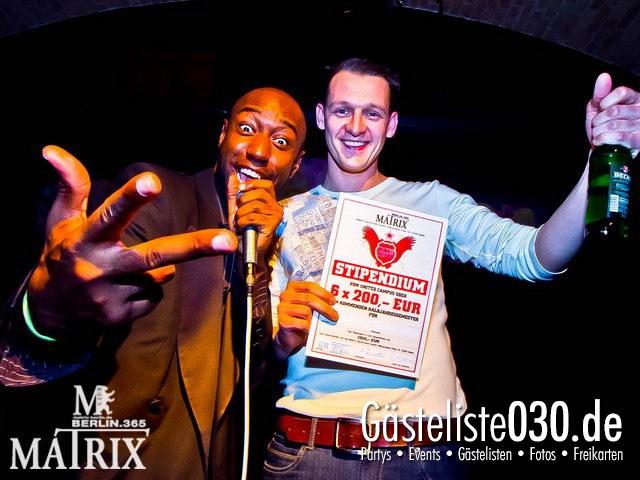 https://www.gaesteliste030.de/Partyfoto #15 Matrix Berlin vom 12.04.2012