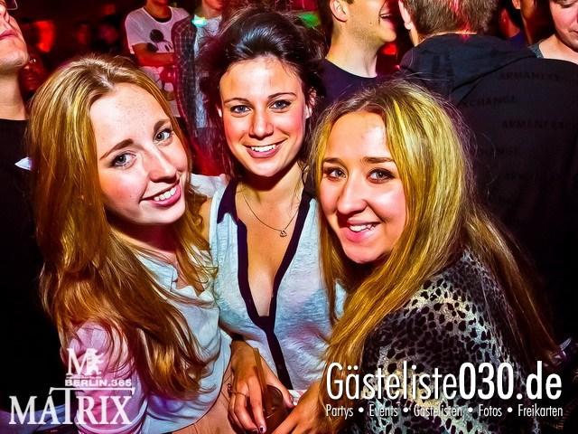 https://www.gaesteliste030.de/Partyfoto #33 Matrix Berlin vom 20.04.2012