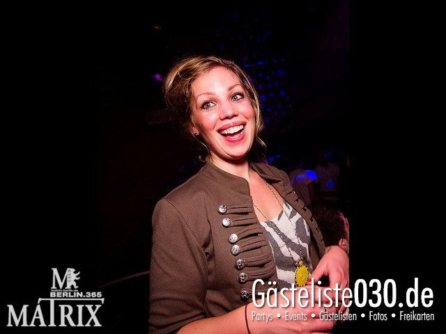 https://www.gaesteliste030.de/Partyfoto #51 Matrix Berlin vom 05.01.2012