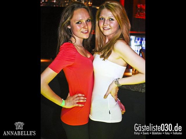 https://www.gaesteliste030.de/Partyfoto #29 Annabelle's Berlin vom 13.04.2012