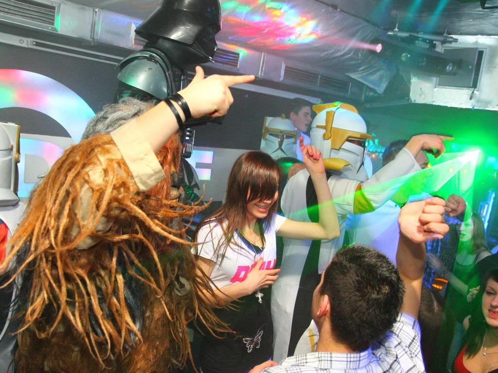 Partyfoto #50 Q-Dorf 25.02.2012 Galaktika