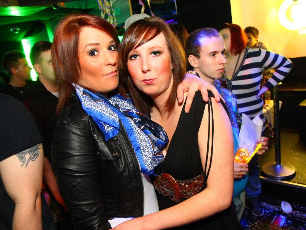 Partyfoto #49 Q-Dorf 18.02.2012 Galaktika
