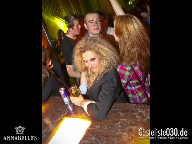 https://www.gaesteliste030.de/Partyfoto #142 Annabelle's Berlin vom 11.04.2012
