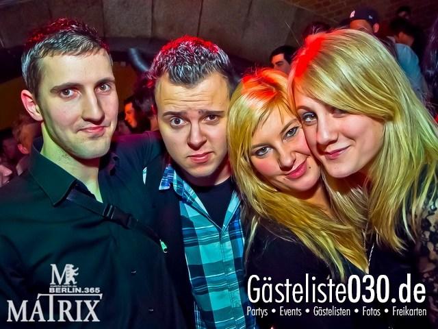 https://www.gaesteliste030.de/Partyfoto #46 Matrix Berlin vom 13.01.2012