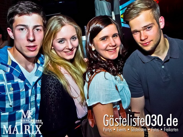 https://www.gaesteliste030.de/Partyfoto #43 Matrix Berlin vom 05.04.2012