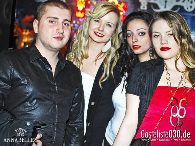 https://www.gaesteliste030.de/Partyfoto #35 Annabelle's Berlin vom 13.04.2012