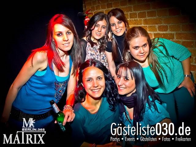 https://www.gaesteliste030.de/Partyfoto #25 Matrix Berlin vom 05.04.2012