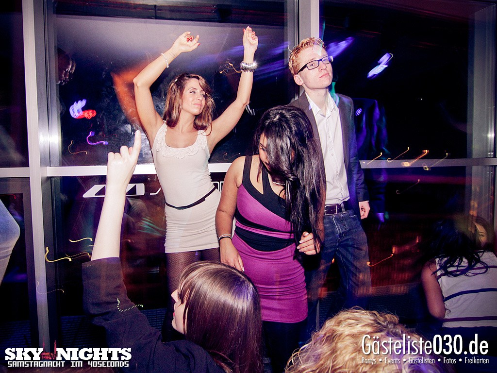 Partyfoto #50 40seconds 31.03.2012 SkyNights - Samstag-Nacht.