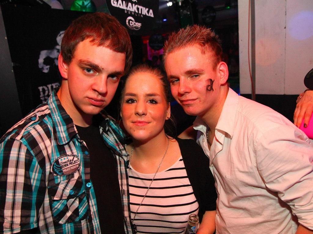 Partyfoto #75 Q-Dorf 04.02.2012 Galaktika