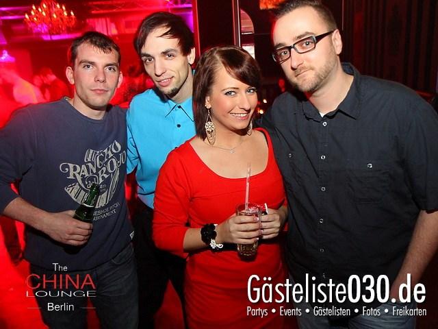 https://www.gaesteliste030.de/Partyfoto #88 China Lounge Berlin vom 13.01.2012