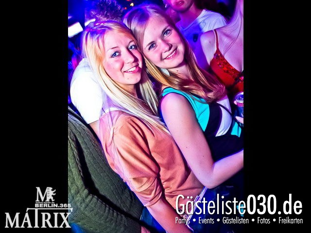https://www.gaesteliste030.de/Partyfoto #54 Matrix Berlin vom 12.04.2012