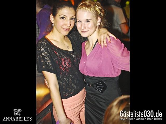 https://www.gaesteliste030.de/Partyfoto #39 Annabelle's Berlin vom 13.04.2012