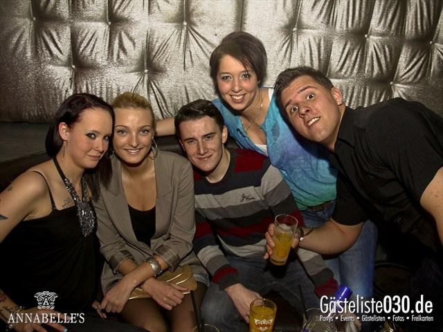 https://www.gaesteliste030.de/Partyfoto #4 Annabelle's Berlin vom 09.04.2012