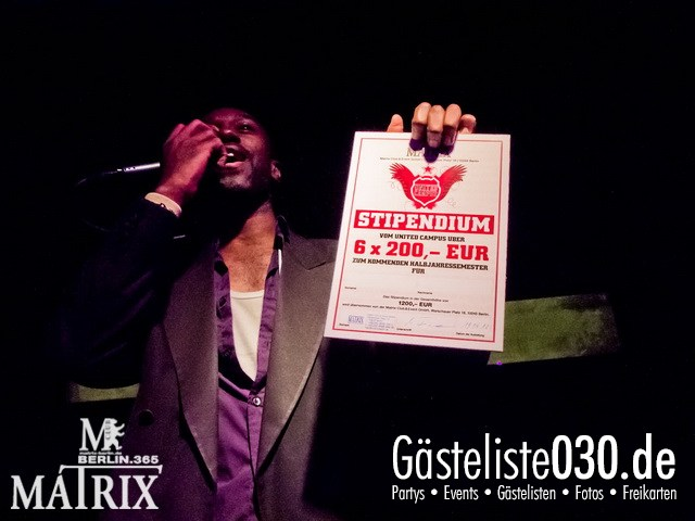 https://www.gaesteliste030.de/Partyfoto #58 Matrix Berlin vom 19.04.2012