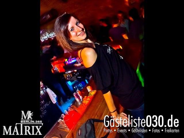 https://www.gaesteliste030.de/Partyfoto #89 Matrix Berlin vom 10.10.2011