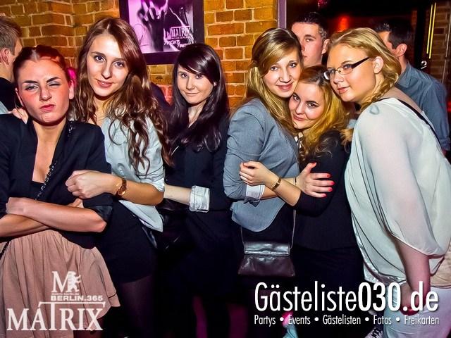 https://www.gaesteliste030.de/Partyfoto #41 Matrix Berlin vom 14.01.2012