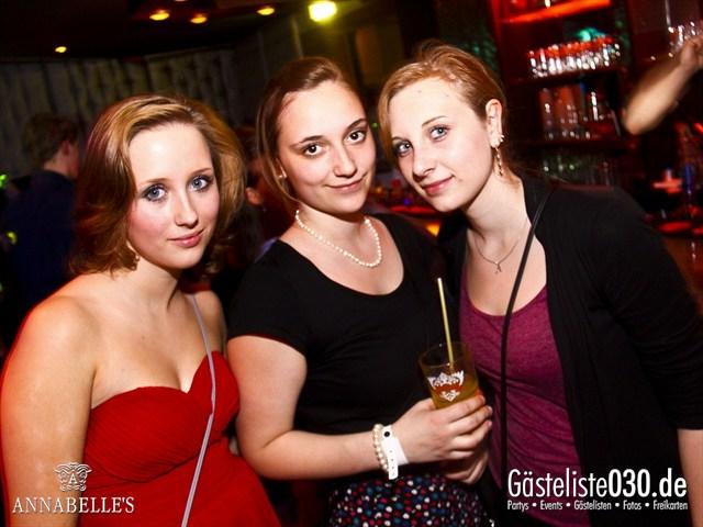 https://www.gaesteliste030.de/Partyfoto #108 Annabelle's Berlin vom 10.04.2012