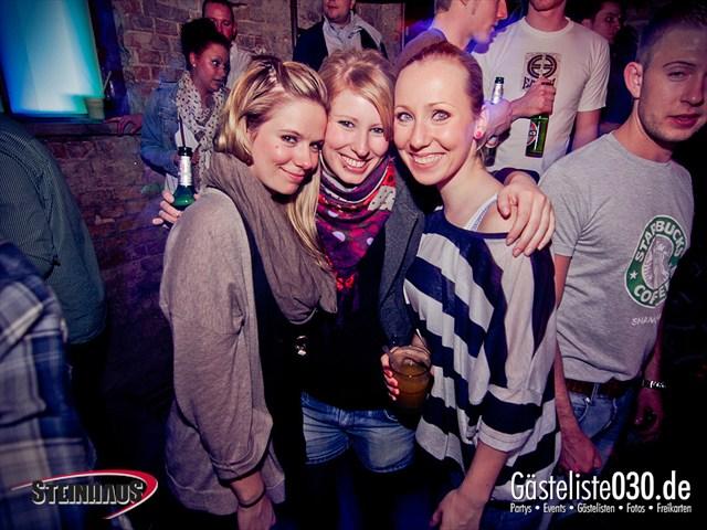 https://www.gaesteliste030.de/Partyfoto #5 Steinhaus Berlin vom 17.03.2012