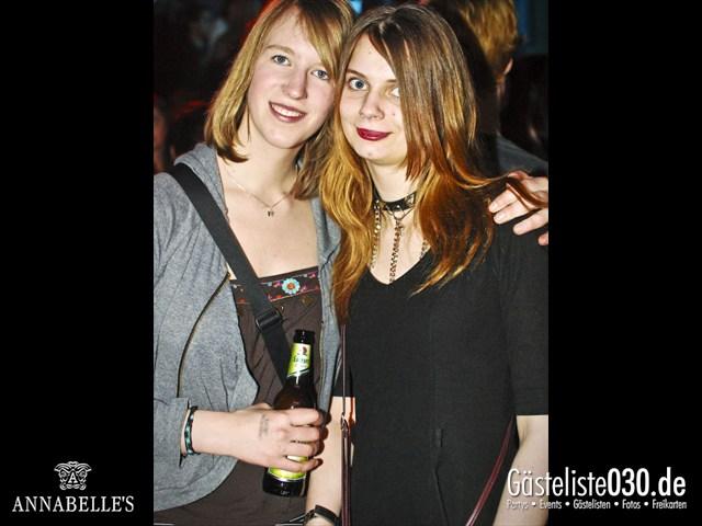 https://www.gaesteliste030.de/Partyfoto #70 Annabelle's Berlin vom 13.04.2012