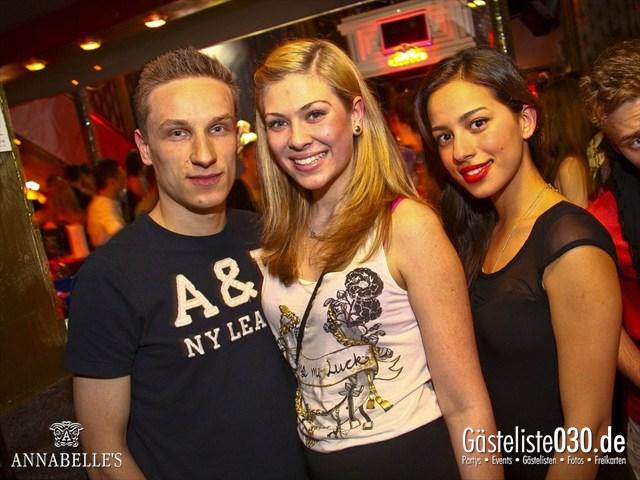 https://www.gaesteliste030.de/Partyfoto #151 Annabelle's Berlin vom 11.04.2012