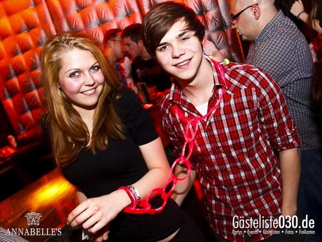 https://www.gaesteliste030.de/Partyfoto #107 Annabelle's Berlin vom 10.04.2012