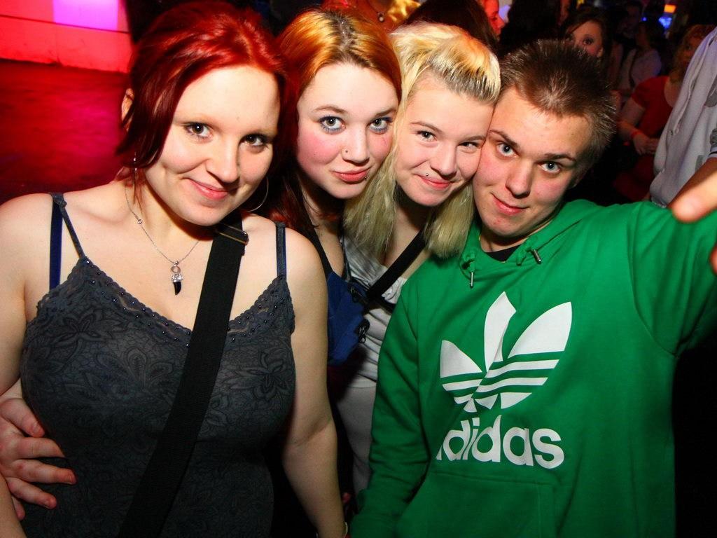 Partyfoto #76 Q-Dorf 14.01.2012 Galaktika
